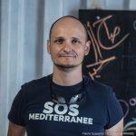 Alessandro, Soccorritore e Presidente di SOS MEDITERRANEE Italia: (copyright Flavio Gasperini - SOS MEDITERRANEE)